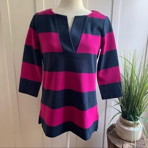 Lands End striped tunic-Size 2-4 fits like a small